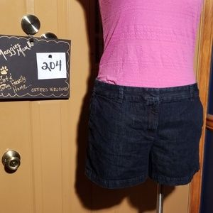Dark denim Ann Taylor Loft Shorts